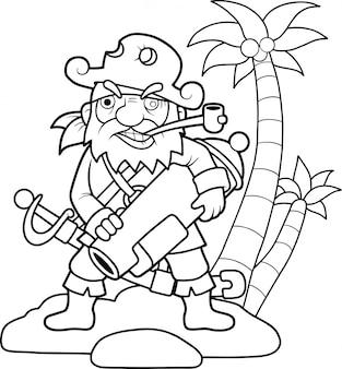Pirata gracioso