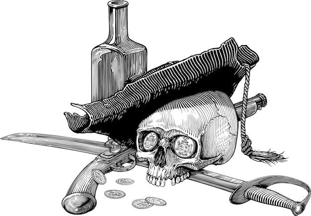 Pirata vida y muerte