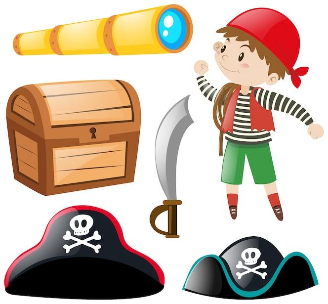 Pirata y otros elementos