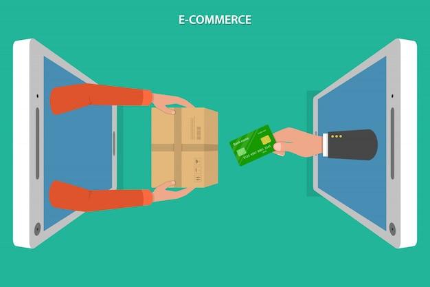 Piso de comercio electronico