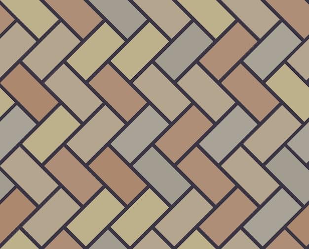 Piso de madera vector azulejo de patrones sin fisuras