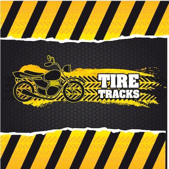 Pistas de neumáticos