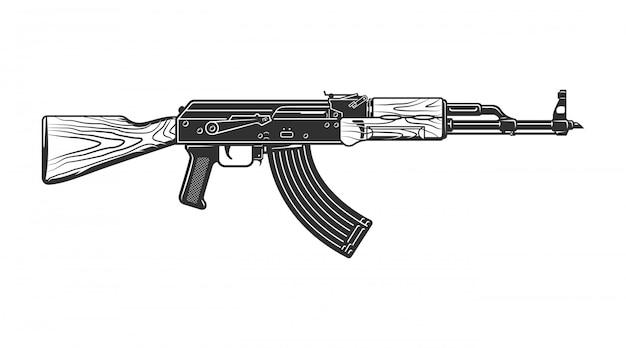 Pistola de tiro vintage