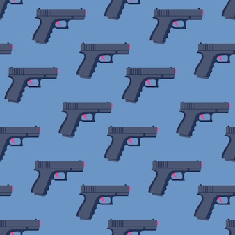 Pistolas de patrones sin fisuras.