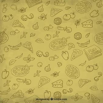 Pizza ilustración