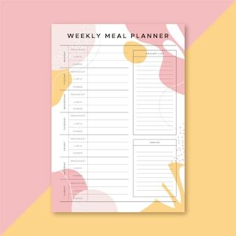 Planificador de comidas