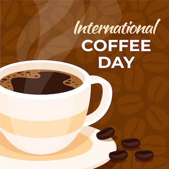 Plano dia internacional del cafe