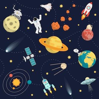 Plano de fondo del espacio
