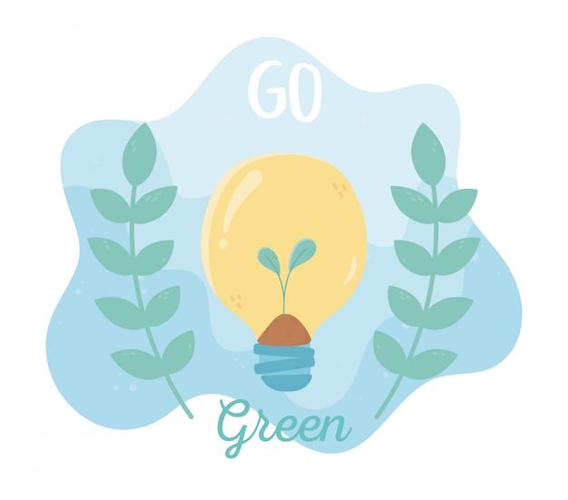Planta en crecimiento en bulbo follaje naturaleza medio ambiente ecología
