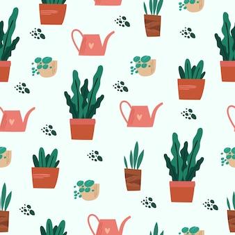 Plantas de casa de patrones sin fisuras
