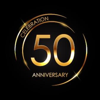 Plantilla 50 años de aniversario