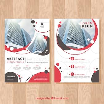 Plantilla abstracta de flyer de negocios