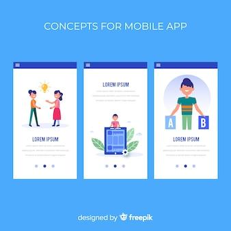 Plantilla para aplicaciones móbiles