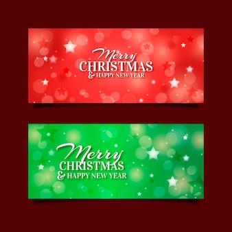 Plantilla de banners de navidad