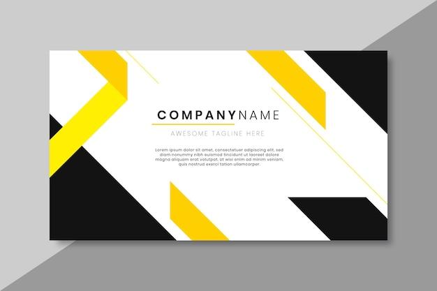 Plantilla de blog de banner empresarial