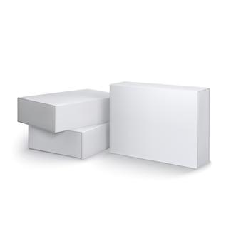 Plantilla de cajas de paquete