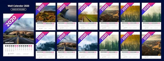 Plantilla calendario 202