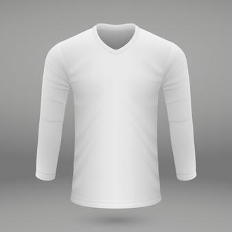 Plantilla de camisa para jersey.
