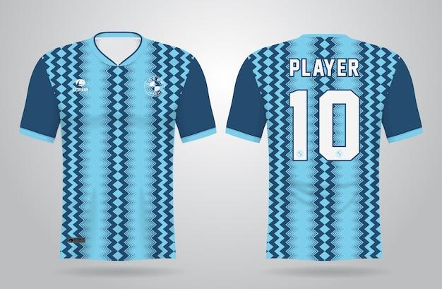 Plantilla de camiseta deportiva para uniformes de equipo