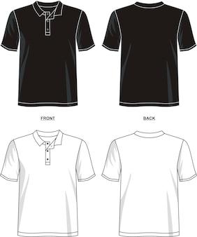 Plantilla de camiseta polo