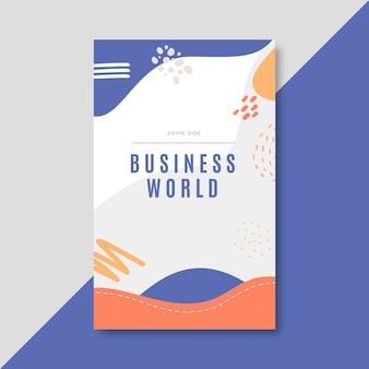 Plantilla de cartel de negocios vertical