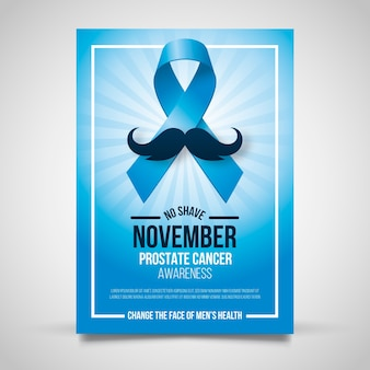 Plantilla de cartel de november