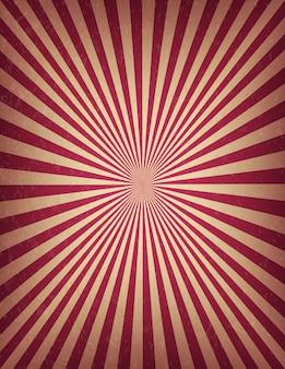 Plantilla de circo o carnaval de remolino rayas stock banner vertical. vieja textura retro cartel de cine.