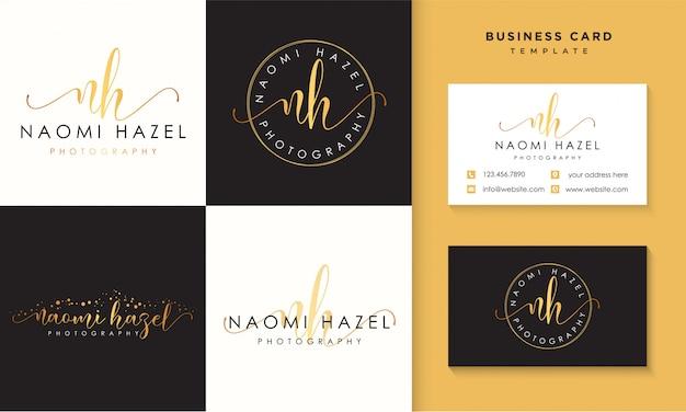 Plantilla de colecciones de logotipos femeninos