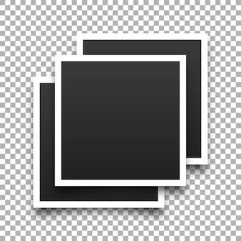Plantilla de collage de marco de fotos