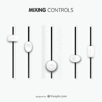 Plantilla de controles de mezcla