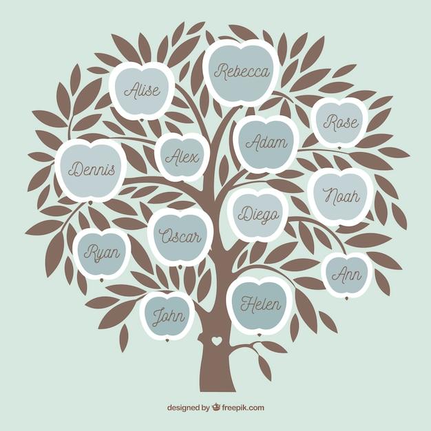 Arbol Genealogico En Ingles Para Completar Y Colorear Imagenes de ...
