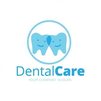 Plantilla de logo dental