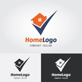 Plantilla de logotipo de inicio de cheque