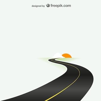 Plantilla de destino por carretera