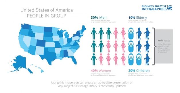 Plantilla de diapositiva de comparación de infografía