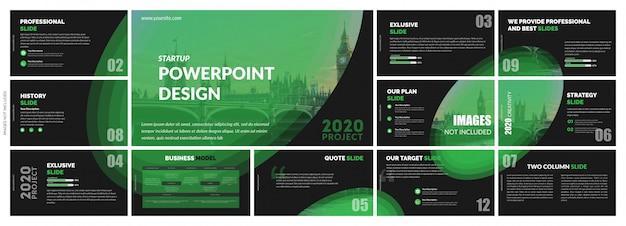 Plantilla de diapositivas creativas y abstractas multipropósito