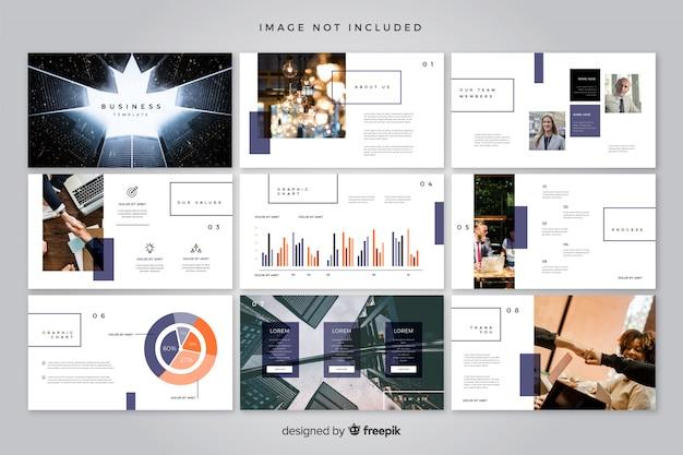 Plantilla de diapositivas mínimas