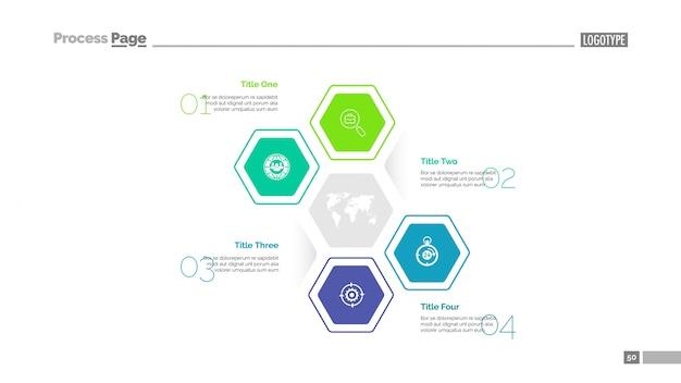 Plantilla de diapositivas de negocio mundial