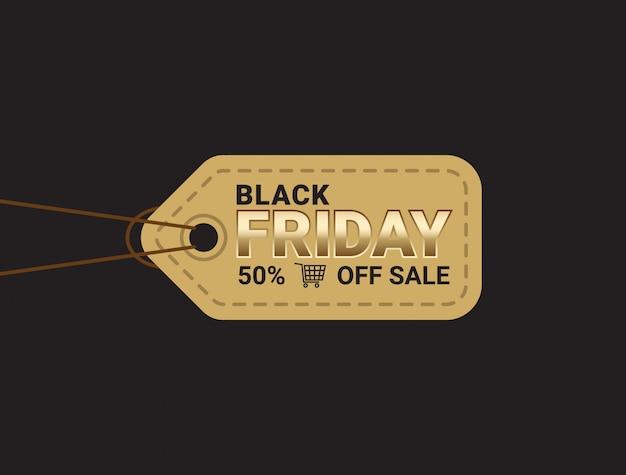Plantilla de diseño de diseño de banner de venta de viernes negro.