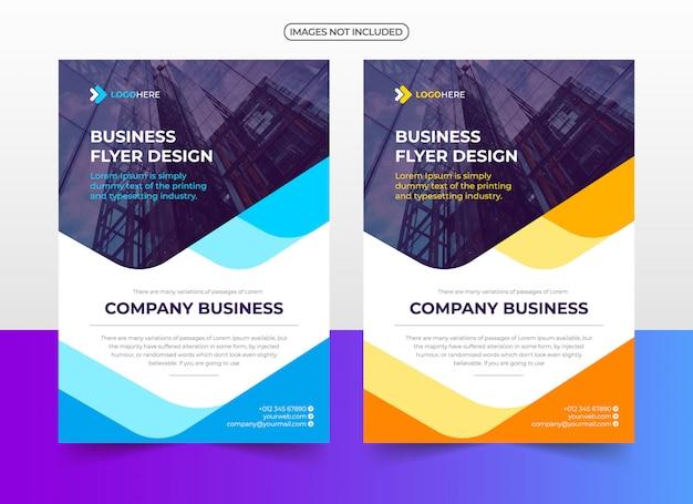Plantilla de diseño de folleto de negocios