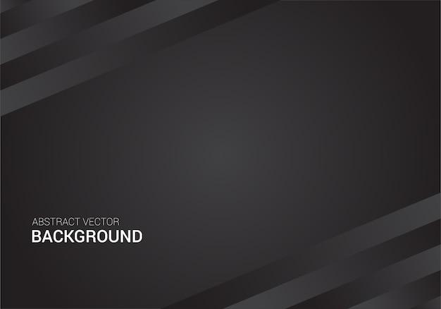 Plantilla de diseño de fondo abstracto cartel negro vector