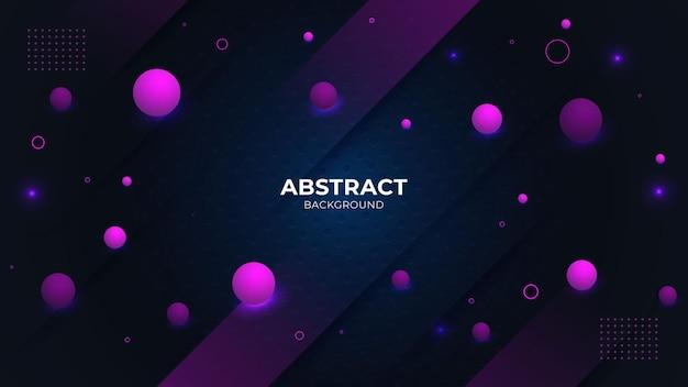 Plantilla de diseño de fondo de lujo abstracto moderno