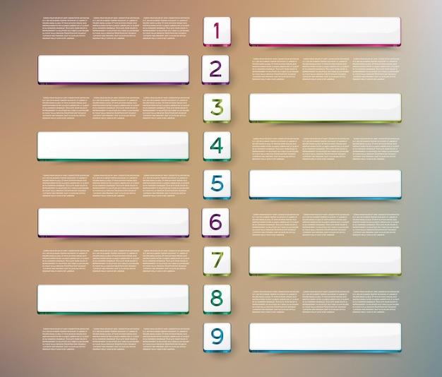 Plantilla de diseño de línea de tiempo de infografías. ilustración de vector.