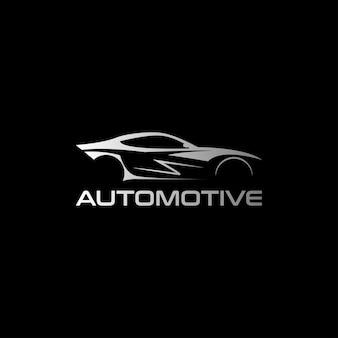 Plantilla de diseño de logotipo de coche automotriz