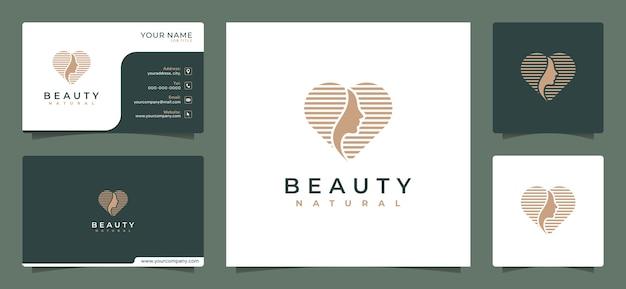 Plantilla de diseño de logotipo de empresa de belleza