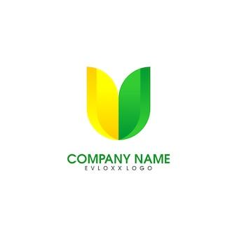 Plantilla de diseño de logotipo eviroment