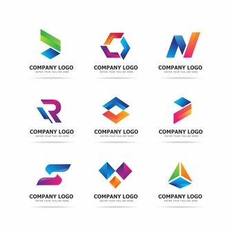 Plantilla de diseño de logotipo de tecnología moderna