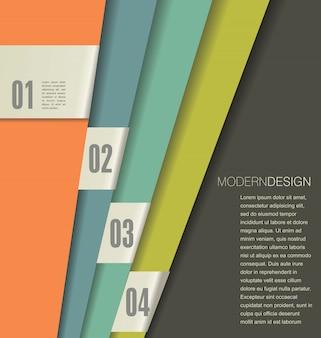 Plantilla de diseño moderno