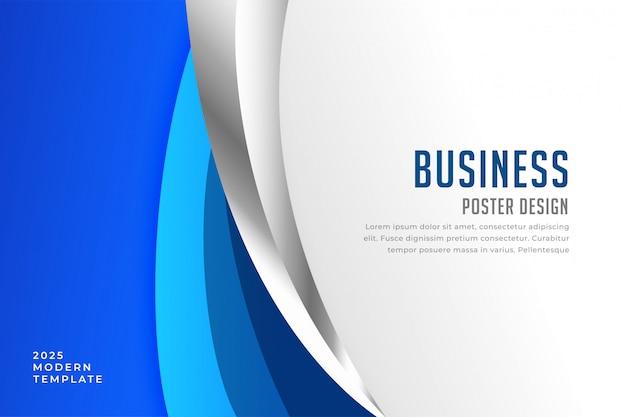 Plantilla de diseño de presentación de cubierta de negocio moderno
