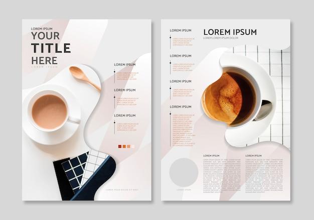 Plantilla de diseño de la revista